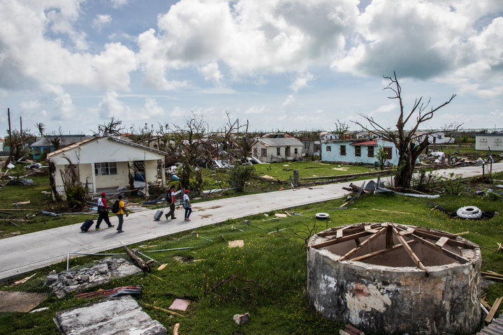 village well after irma