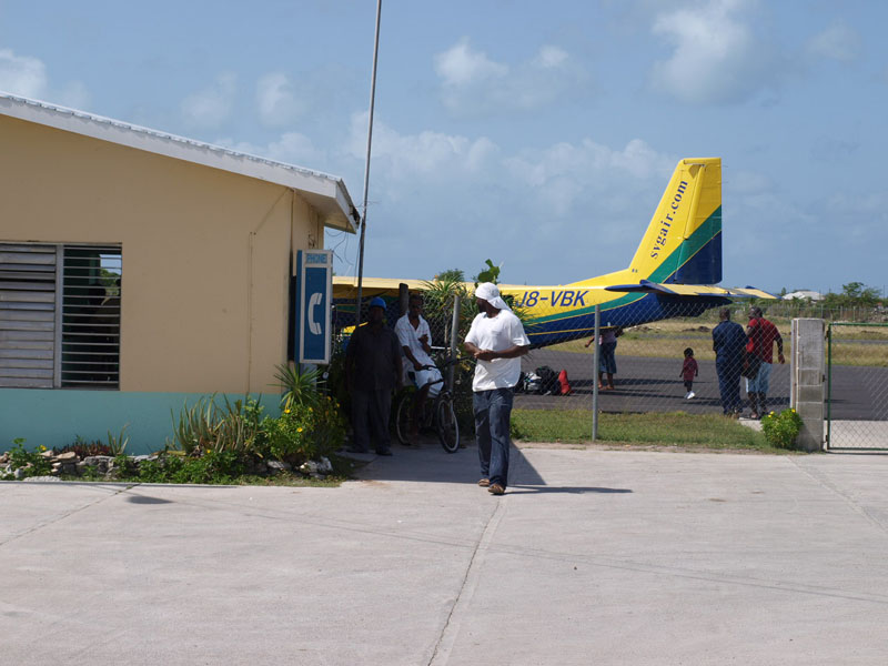 Codrington airport