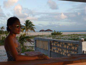 Asha at Pink Sand cottage